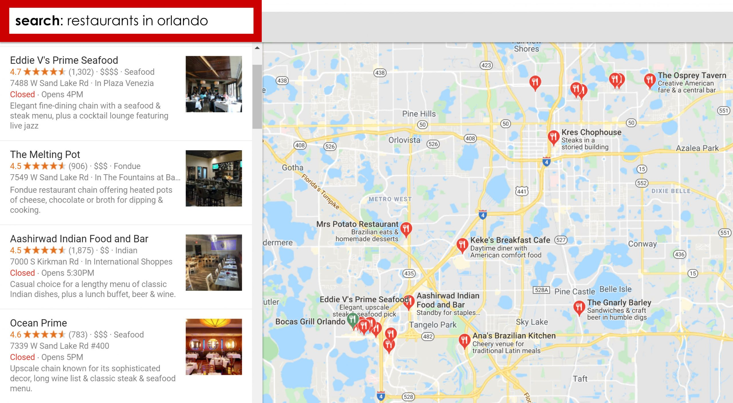 Local SEO For Restaurants | Restaurant SEO Services | Diner Designer